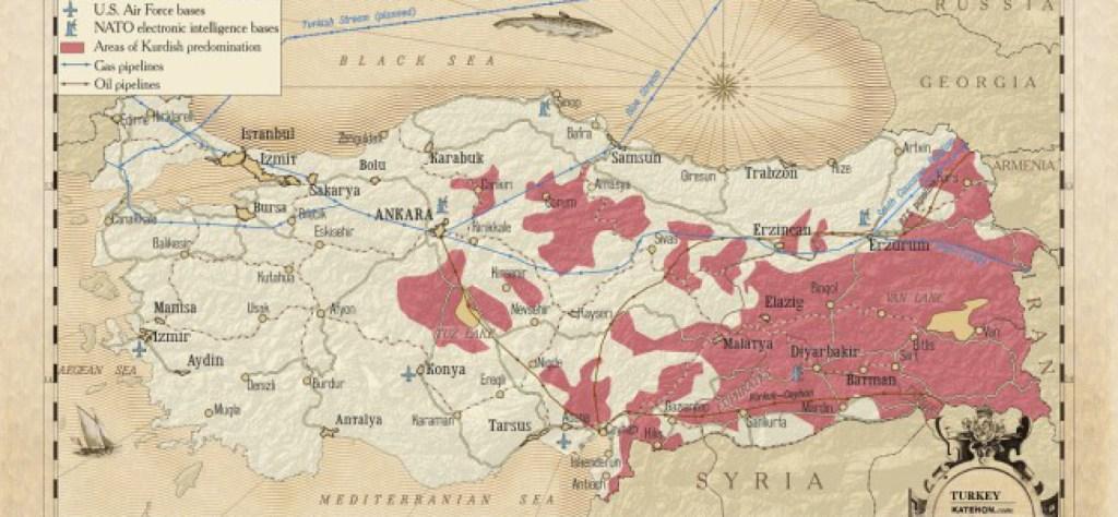 Dove sono i curdi
