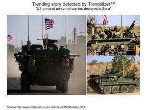 Siria:  Soldati Usa e  forze  russe a contatto attorno a Manbij