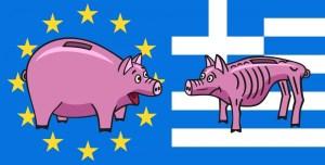 La  BCE, con la Grecia, ci guadagna.