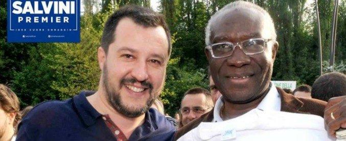 Toni Iwobi, 62 anni, il primo senatore nero. Residente a Spirano (Bergamo) e di origini nigeriane. Nella Lega dal 1993 e arrivato in Italia a 22 anni con un visto per motivi di studio è responsabile del dipartimento immigrazione del Carroccio.
