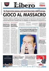 L'Establishment sta invocando  la bancarotta dell'Italia.  Irresponsabili.