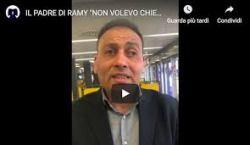 """Padre di Ramy: """"Non chiesta la cittadinanza, i giornalisti mi hanno detto di dirlo"""""""
