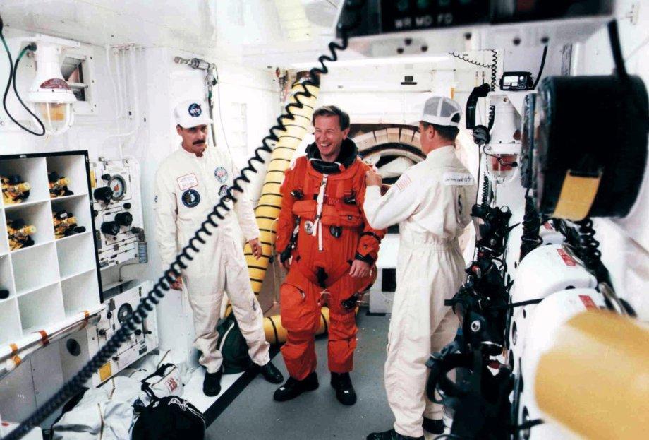 Maurizio Cheli astronauta