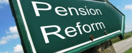 1) Le pensioni e la riforma infinita…