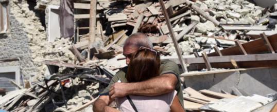 Il terremoto è in noi … e non lo sappiamo