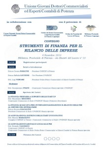 Locandina Convegno 4 Novembre 2013