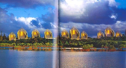 Centro culturale Jean Marie Tjibaou. Nuova Caledonia. Renzo Piano