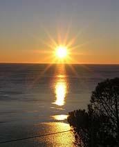 Sole sul lago