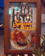 La Pizza degli Spatzen