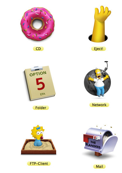 Freebies Icons - 128x128: The Simpsons Icons