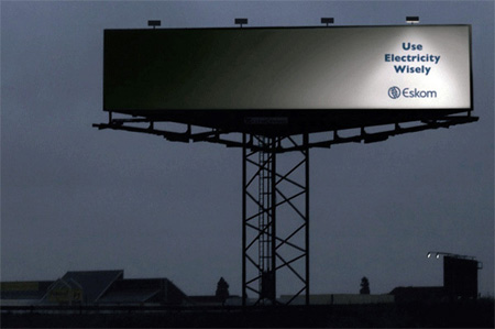 Eskom Electricity Advertisement