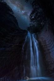 © Earthquake Waterfall