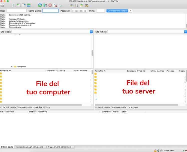aggiornare manualmente il tema wordpress