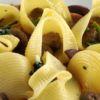 Lumaconi ricotta, spinaci e taleggio al forno Friccò Chef Sauro Scarabotta