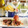 Polvo Grelhado à Provençal com Batatas fritas GO WHERE VINHOS Le Vin Bistro Chef: Marcílio Araújo