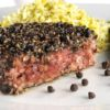 Hamburger com crosta de pimenta VPJ Beef (Restaurante América)