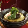 Brasato de Picanha em Vinho Tinto sobre Polenta cremosa Go Where Gastronomia Restaurante Ají Chef: Checho Gonzales