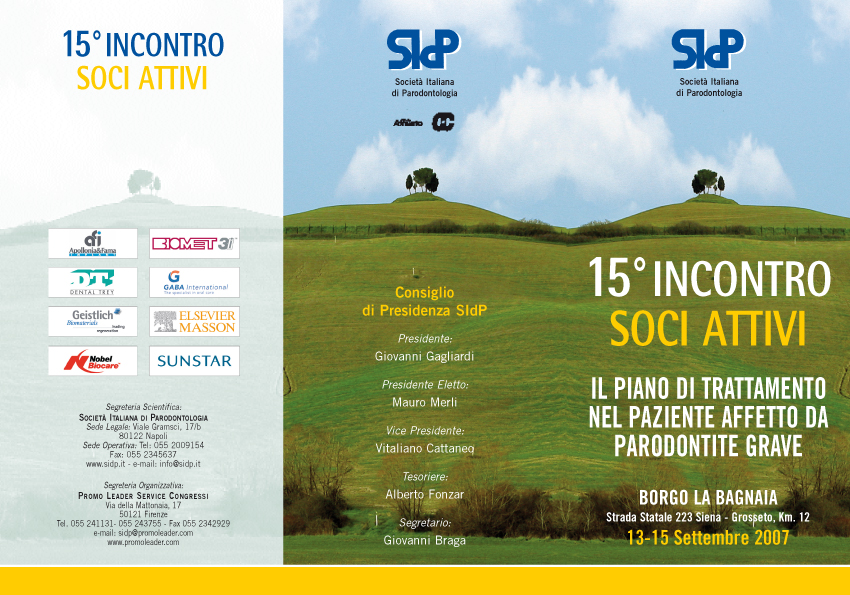SIDP 15 INCONTRO:SIDP 15 INCONTRO