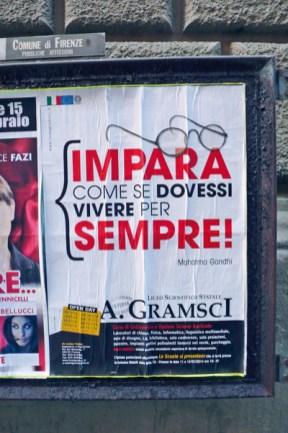 Affissione manifesti 2014