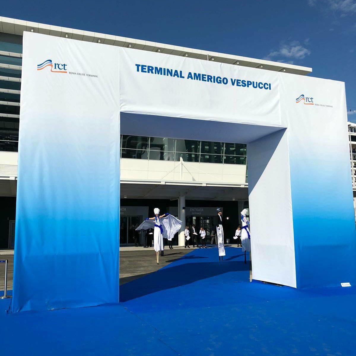 L'inaugurazione del nuovo terminal Amerigo Vespucci