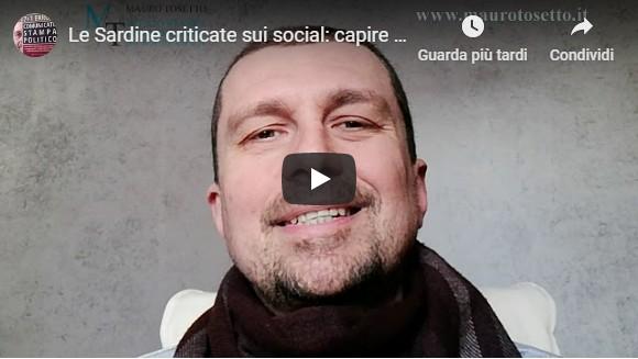 Le Sardine criticate sui social: capire in anticipo le conseguenze della propria comunicazione