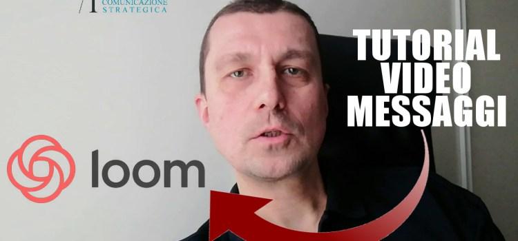 Comunicare da libero professionista: videomessaggi con Loom