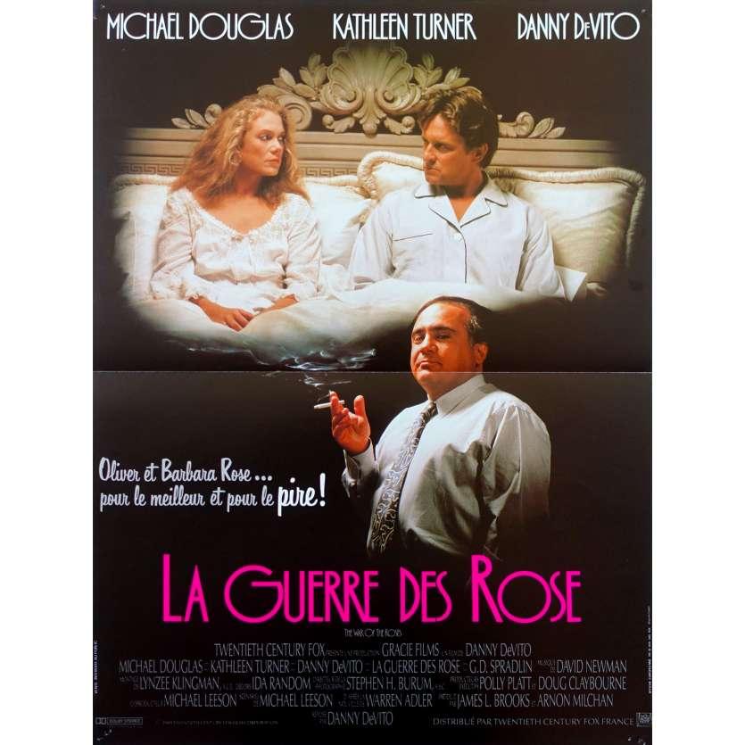 the war of the roses original movie poster 15x21 in 1989 danny devito michael douglas kathleen turner