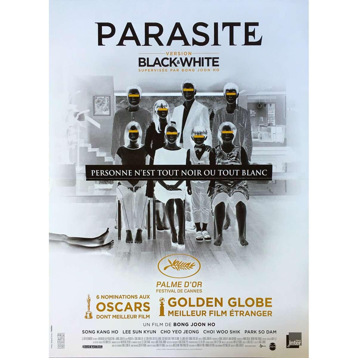 parasite black and white original movie poster 15x21 in 2020 bong joon ho kang ho song