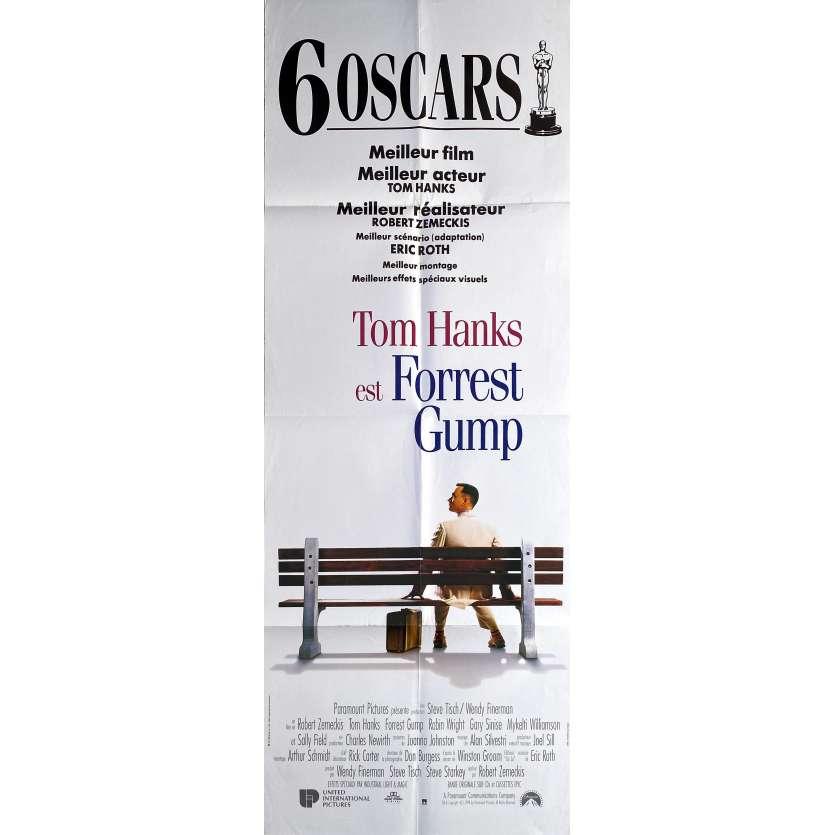 forrest gump original movie poster 23x63 in 1994 robert zemeckis tom hanks