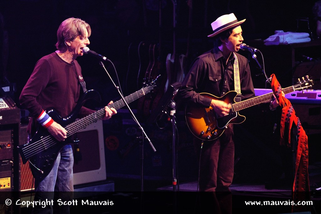 Phil Lesh and Jackie Greene on New Year's Eve 2008
