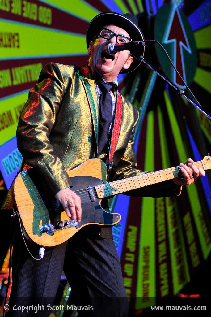 Elvis Costello at the Fox Theatre on May 5, 2011