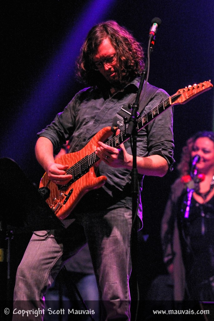 """John Kadlecik  as Furthur performs """"Welcome to the Dance"""" on December 30, 2010 at Bill Graham Civic"""