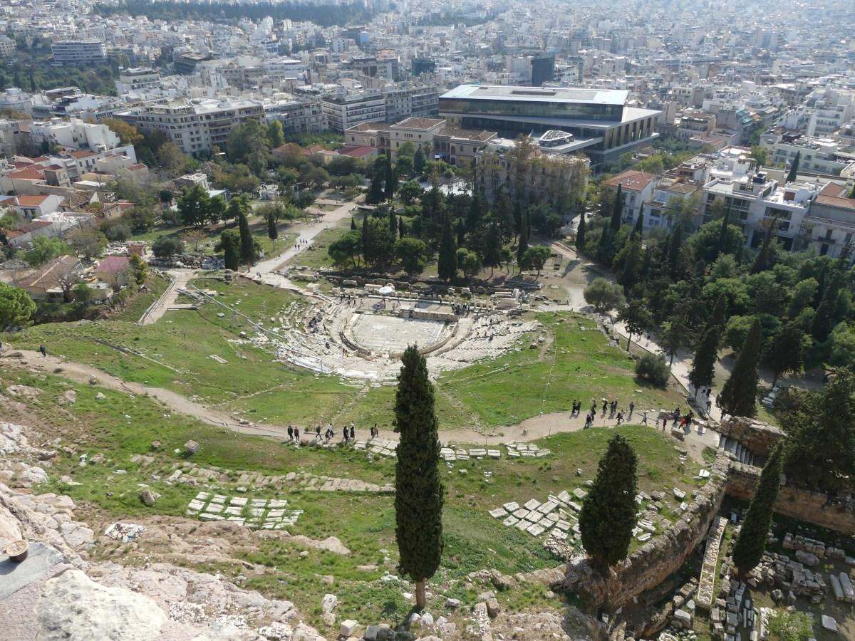Dionysos theater (Acropolis, Athens)