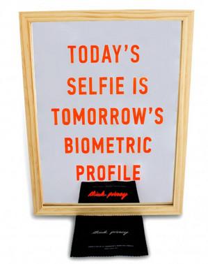 Today's delfie is tomorrows' biometric profile