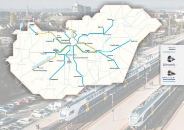 Korszerű motorvonatok a budapesti elővárosi vonalakon