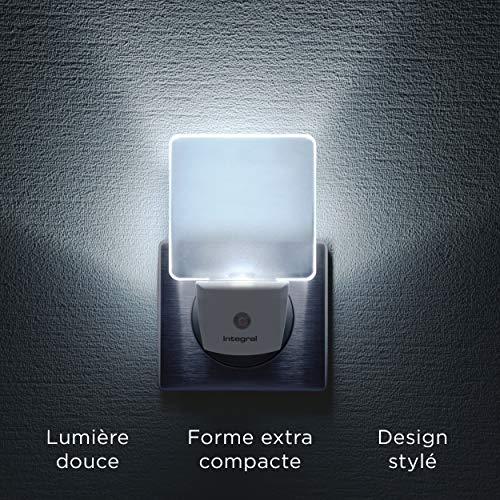 integral Veilleuse a LED ILNL-CL-EU 98-28-92 avec detecteur automatique Integral Prise EU 2 broches