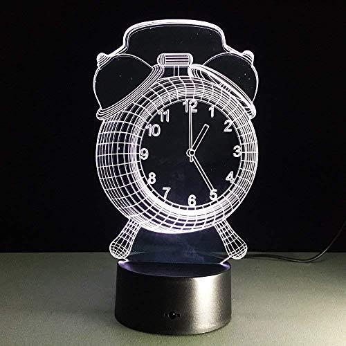 Lampe de chevet Cadeaux de Noël Gaming Lights Rétro Réveil Style Jouet Décoratif 3D USB Lampe Multi-Couleur Changement LED Ampoule Bureau Table Veilleuse Décor À La Maison Enfants Sommeil Lampe a