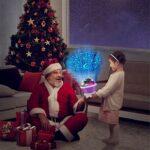 STAR PROJECTEUR NUMIÈRE PECKE NIGHT NUIT ROTING DE LA LUMIÈRE LED Night Lumière Pour Enfants Enfants Enfants Chambre à coucher Lampe de Noël avec 8 lumières colorées pour la chambre à coucher pour béb