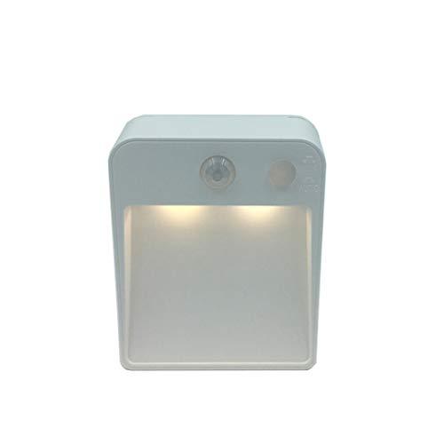 HOTPINK1 Petite veilleuse LED avec détecteur de mouvement PIR – Applique murale à induction pour voiture – Pour chambre à coucher à la maison