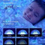 Projecteur Étoile,Tesoky Veilleuse Enfant avec 27 Modes de Couleur,Veilleuse Etoile Projection avec Bluetooth Télécommande Enceinte Intégré pour Noël,Veilleuse Bebe,Adulte,Cadeau,Decoration (noir)
