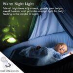 USB Portable White Bruisson Machine bébé pour Dormir avec la Nuit de Nuit/projecteur étoilé, 20 fidélité de Sons Non-bouclés/Ventilateur Lullaby,Rose