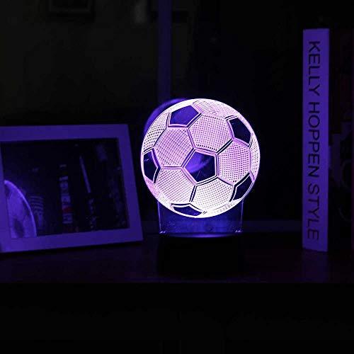 Veilleuse d'ambiance 3D à LED en acrylique avec motif de dessin animé pour chambre d'enfant, maison, Noël, Halloween, base en ABS, alimentation USB, économie d'énergie, convient pour salon, bar, fête