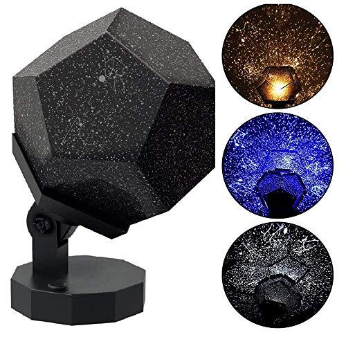 Cosmos Lampe Céleste Étoile Galaxie Veilleuse Constellation Ciel étoilé Projecteur Amusant Etoile Veilleuse Enfant Veilleuse Alimentation USB