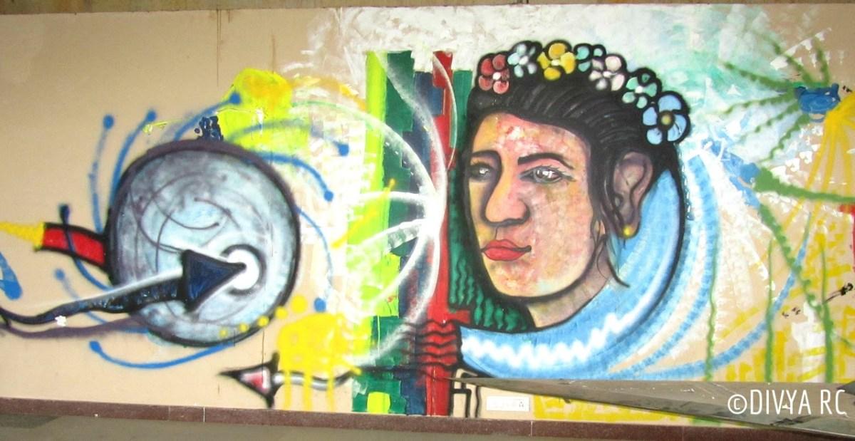 Bengaluru street art changing the cityscape