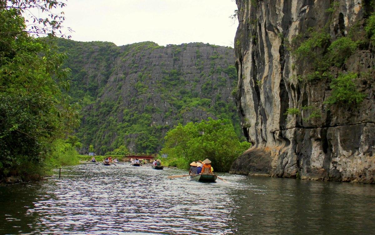 tam coc is a popular tourist destination