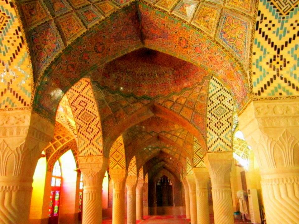 Nasir al-Molk Mosque in the afternoon