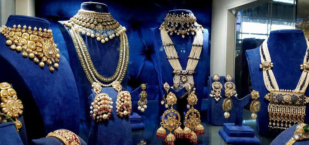Creations of jewellers of Jaipur