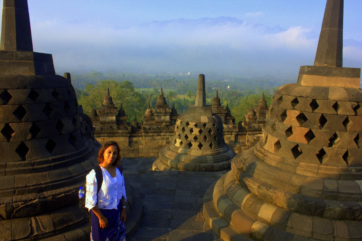Borobudur is a special place