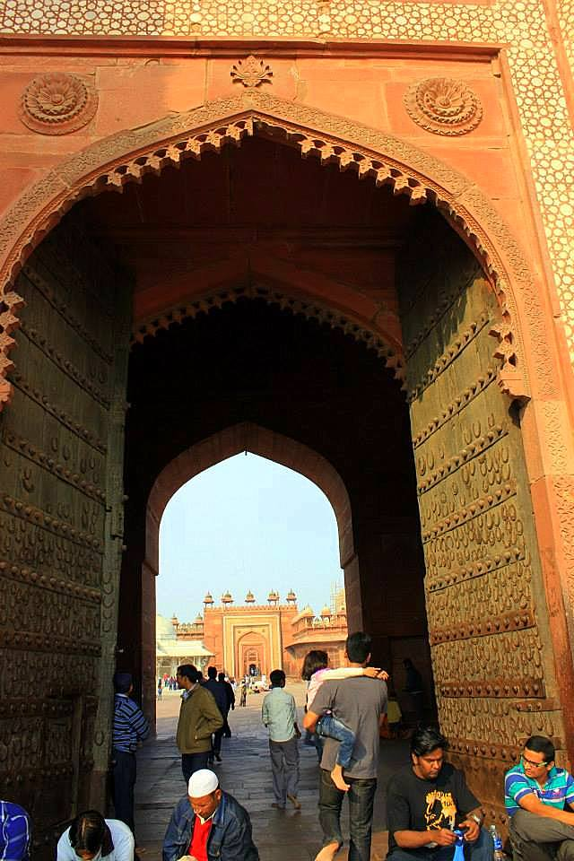 buland darwaza of fatehpur sikri