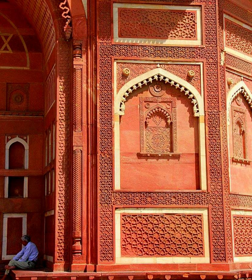 agra fort is also known as lal qila